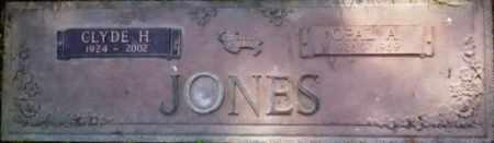 JONES, OPAL A. - Yuba County, California | OPAL A. JONES - California Gravestone Photos